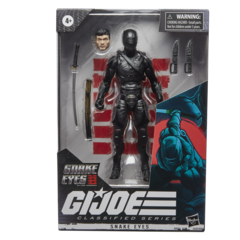 GI Joe Classified Series - Snake Eyes Movie 6inch Action Figure