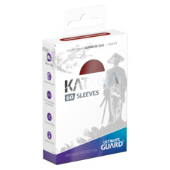 Ultimate Guard Katana Small Sleeves - Red (60ct)