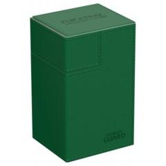 Ultimate Guard Flip'n'Tray 80+ Deck Case - Green