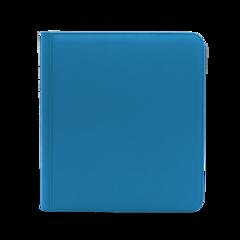 Dex Protection 12 Pocket Zipper Binder - Blue