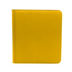 Dex Protection 12 Pocket Zipper Binder - Yellow