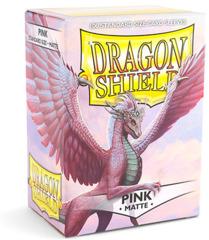 Dragon Shield Matte Standard Sleeves - Pink (100ct)