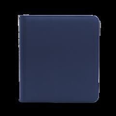 Dex Protection 12 Pocket Zipper Binder - Dark Blue