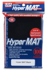 KMC Hyper Mat Standard Sleeves - Black (100ct)
