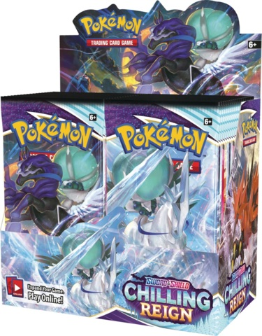 Sword & Shield 06: Chilling Reigns - Booster Box (In-store Pickup ONLY)