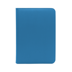 Dex Protection 9 Pocket Zipper Binder - Blue