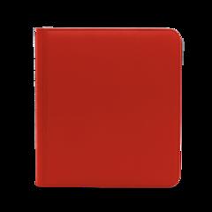 Dex Protection 12 Pocket Zipper Binder - Red
