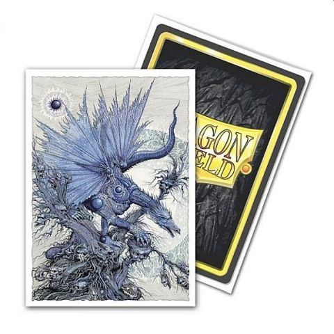 Dragon Shield MATTE Art Standard Sleeves - Seer of the God Hand (100ct)