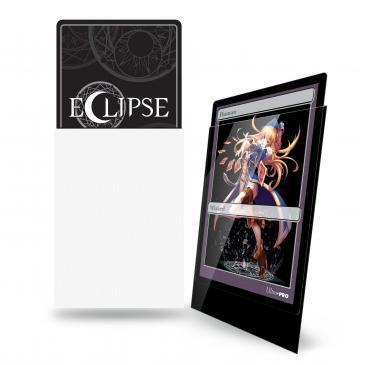 Ultra Pro Glossy Eclipse Small Sleeves - White (60ct)