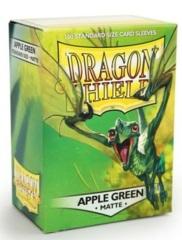 Dragon Shield Matte Standard Sleeves - Apple Green (100ct)
