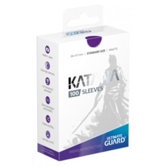 Ultimate Guard Katana Standard Sleeves - Purple (100ct)