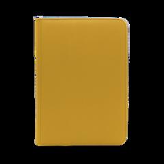 Dex Protection 9 Pocket Zipper Binder - Yellow