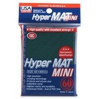 KMC Hyper Mat Small Sleeves - Green (60ct)