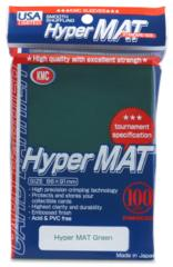 KMC Hyper Mat Standard Sleeves - Green (100ct)