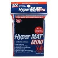 KMC Hyper Mat Small Sleeves - Black (60ct)