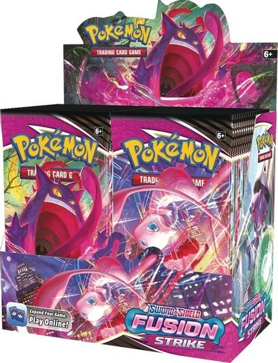 Sword & Shield 08: Fusion Strike - Booster Box (In-Store Pickup ONLY)