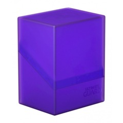 Ultimate Guard Boulder 80+ Deck Case - Amethyst
