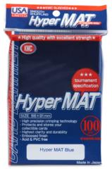 KMC Hyper Mat Standard Sleeves - Blue (100ct)