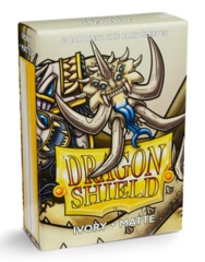 Dragon Shield Matte Small Sleeves - Ivory (60 ct)