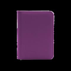Dex Protection 4 Pocket Zipper Binder - Purple
