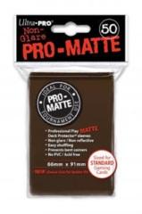 Ultra Pro PRO-Matte Standard Sleeves - Brown (50ct)