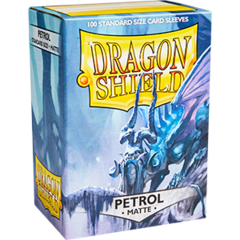 Dragon Shield Matte Standard Sleeves - Petrol (100ct)