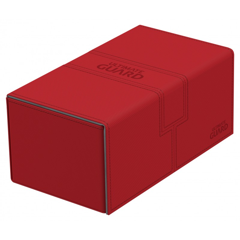 Ultimate Guard Twin FlipnTray 200+ Deck Case - Red