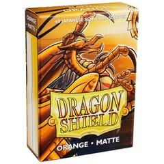 Dragon Shield Matte Small Sleeves - Orange (60ct)
