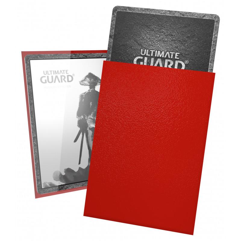 Ultimate Guard Katana Small Sleeves - Red (60ct)