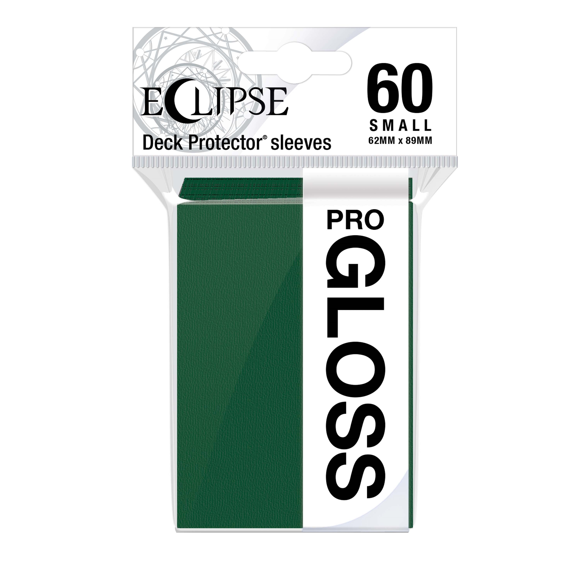 Ultra Pro Glossy Eclipse Small Sleeves - Forest Green (60ct)