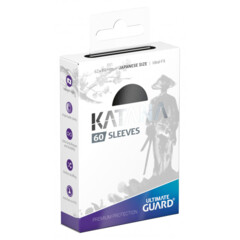 Ultimate Guard Katana Small Sleeves - Black (60ct)