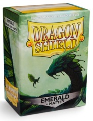 Dragon Shield Matte Standard Sleeves - Emerald (100ct)