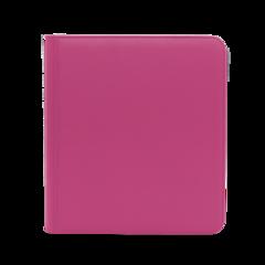 Dex Protection 12 Pocket Zipper Binder - Pink