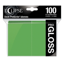 Ultra Pro Glossy Eclipse Standard Sleeves - Lime Green (100ct)