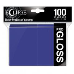 Ultra Pro Glossy Eclipse Standard Sleeves - Royal Purple (100ct)