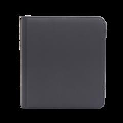 Dex Protection 12 Pocket Zipper Binder - Grey