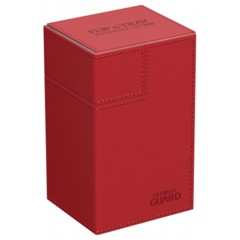Ultimate Guard Flip'n'Tray 80+ Deck Case - Red