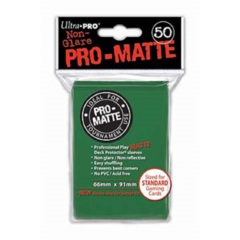 Ultra Pro PRO-Matte Standard Sleeves - Green (50ct)