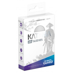 Ultimate Guard Katana Small Sleeves - White (60ct)