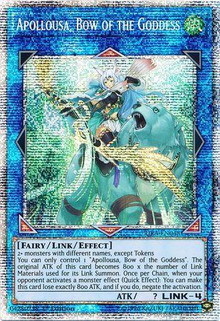 Apollousa, Bow of the Goddess - RIRA-EN048 - Prismatic Secret Rare - 1st Edition
