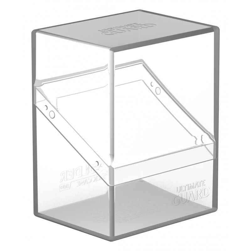 Ultimate Guard Boulder 80+ Deck Case - Clear