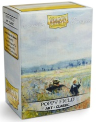 Dragon Shield Art Standard Sleeves - Poppy Field (100ct)