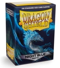 Dragon Shield Matte Standard Sleeves - Night Blue (100ct)