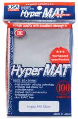 KMC Hyper Mat Standard Sleeves - Clear (100ct)