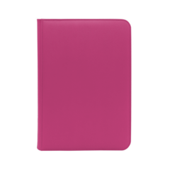 Dex Protection 9 Pocket Zipper Binder - Pink