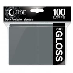 Ultra Pro Glossy Eclipse Standard Sleeves - Smoke Grey (100ct)