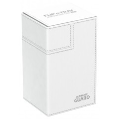 Ultimate Guard Flip'n'Tray 80+ Deck Case - White