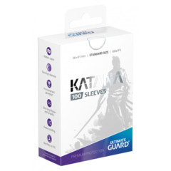 Ultimate Guard Katana Standard Sleeves - White (100ct)