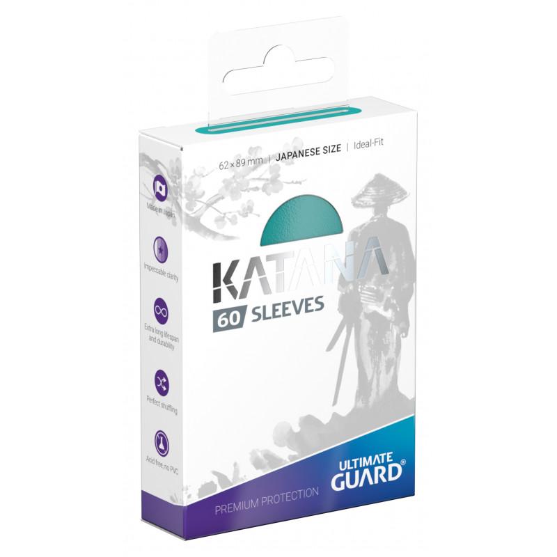 Ultimate Guard Katana Small Sleeves - Turquoise (60ct)