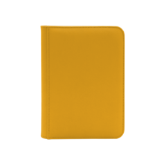 Dex Protection 4 Pocket Zipper Binder - Yellow